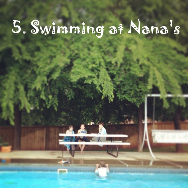 Swimming at Nanas